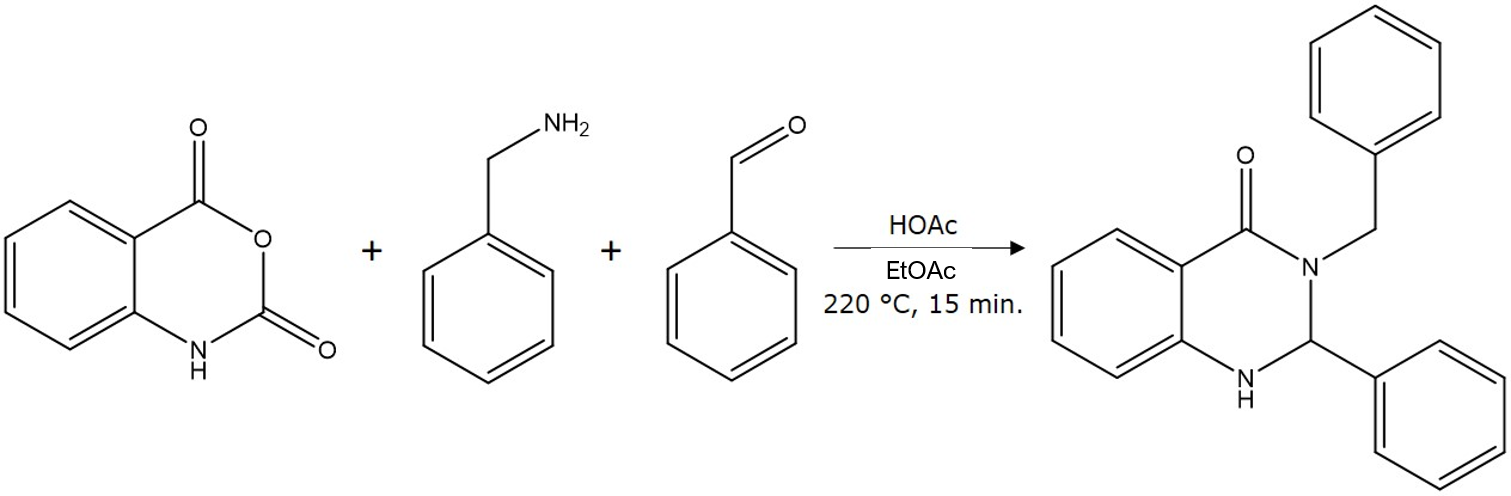 3-comp RxN in EtOAc