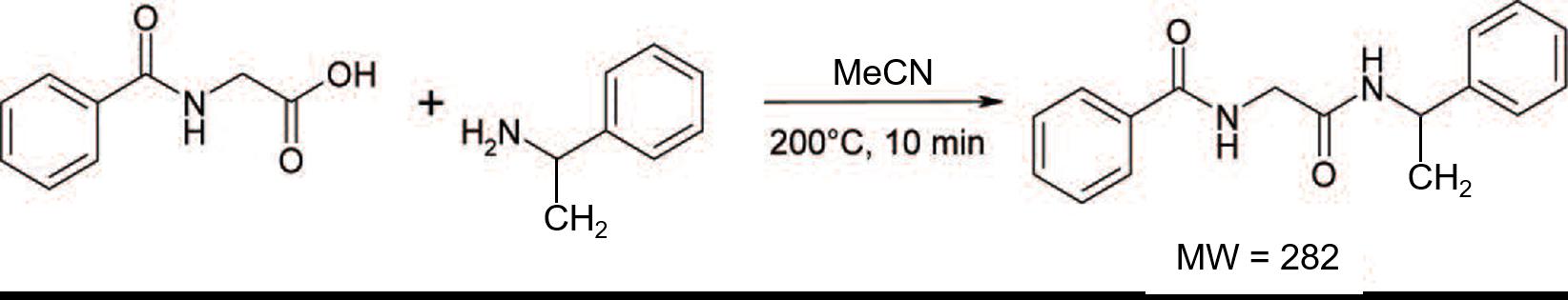 Hipp acid + aMBA RxN in ACN