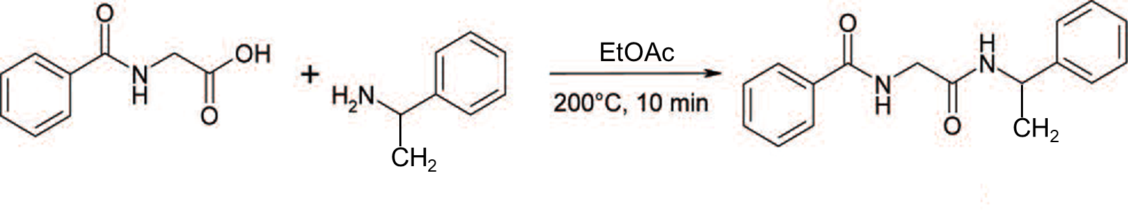 Hipp acid + aMBA RxN in EtOAc-1
