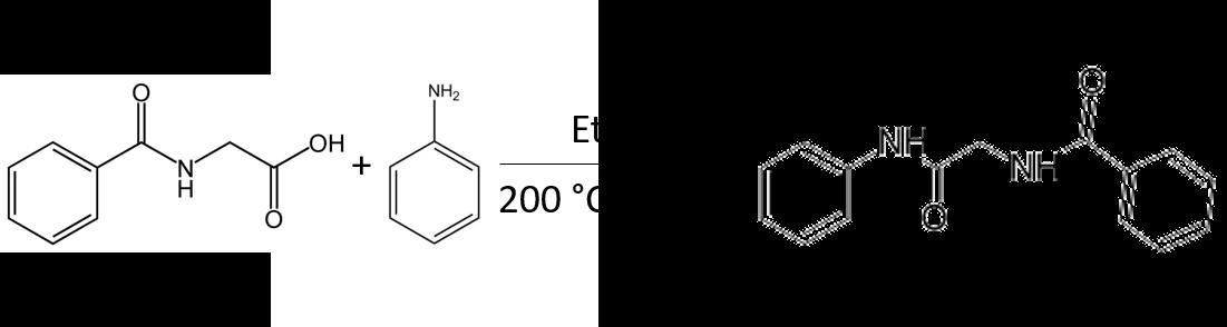 Hipp acid + aniline RxN in EtOAc