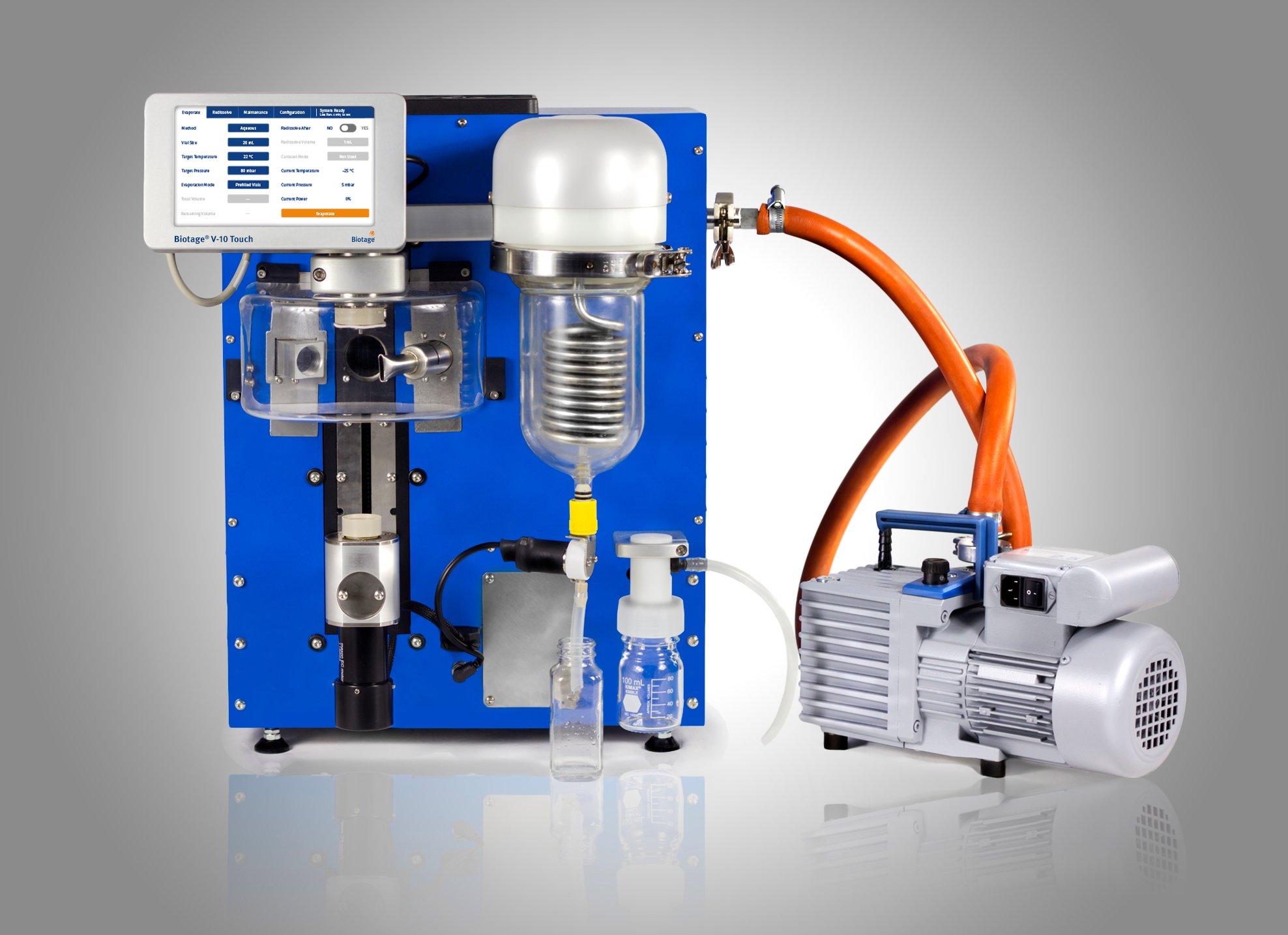 V-10 Touch Portrait w pump