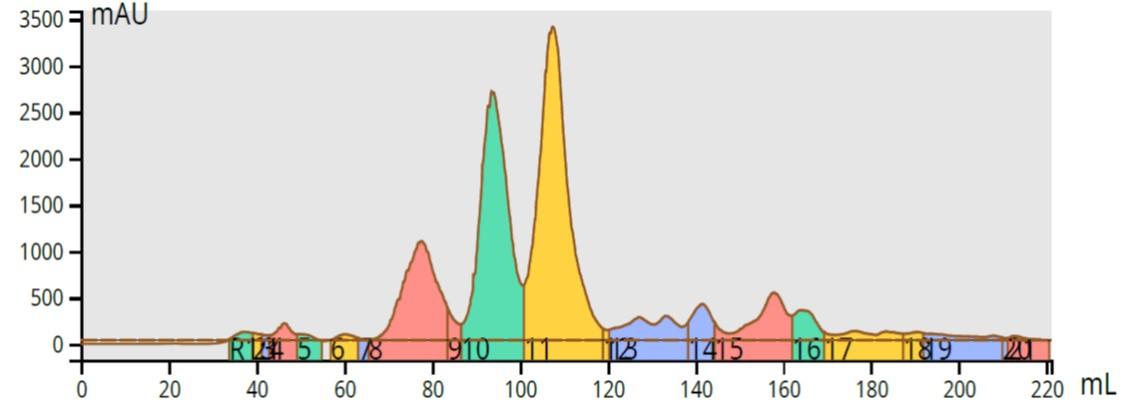 175C acetone RP 50-100% 12g Ultra C18 90mg
