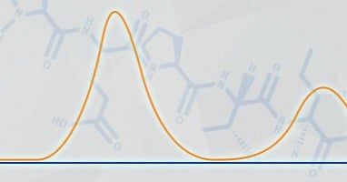 Optimizing a mobile phase gradient for peptide purification using flash column chromatography
